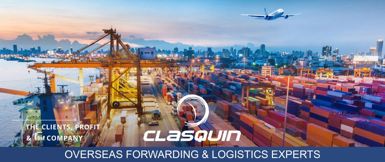Clasquin, l'expert mondial en transport et logistique