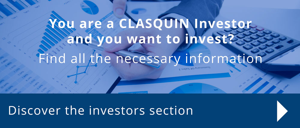 Discover the investors section