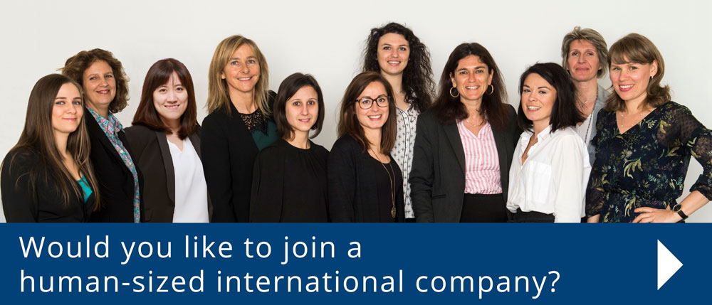 Join a human sized international company
